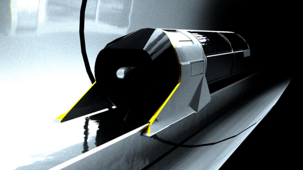 099 Hyperloop Concept Pod